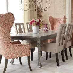 Traditional Wingback Chair Wedding Covers And Sashes Must Know Furniture The Dining Room By Horchow