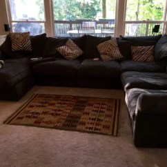 What Size Rug For Living Room Sectional Brown And Beige