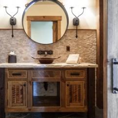 Kitchen And Bath Remodel Three Piece Sets Rustic Backsplash | Houzz