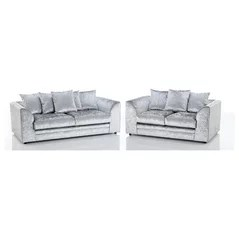 crushed velvet sofa australia refurbished discount furniture 4 u - luton, bedfordshire, uk lu4 8nu
