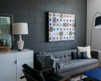 Painted Concrete Block Walls Home Design Ideas, Pictures ...