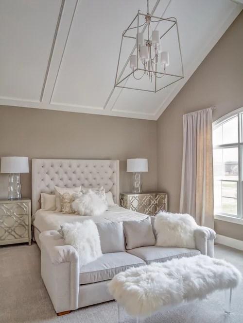 white fluffy desk chair shabby chic nursing transitional bedroom design ideas, remodels & photos | houzz