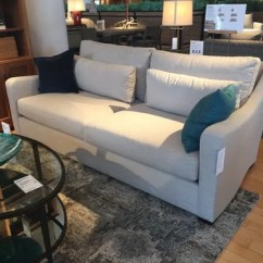 Crate And Barrel Verano Sofa Leather Sets For Sale Ii Look A Like