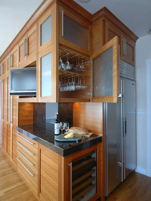 undermount porcelain kitchen sink bling backsplash wine glass storage ideas, pictures, remodel and decor