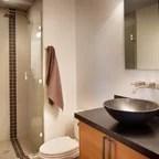 Aspen Mountain Modern - Rustic - Bathroom - Houston - by ...