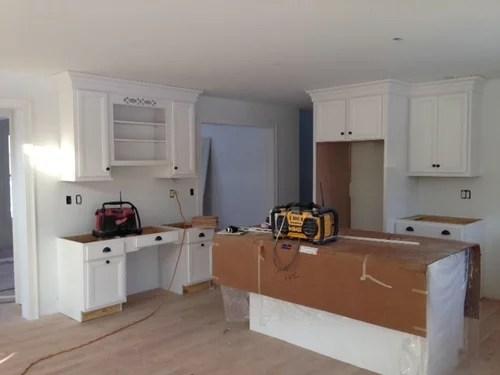 kitchen desk area continue