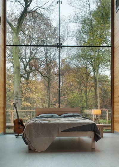 Modern Bedroom by Natural Bed Company