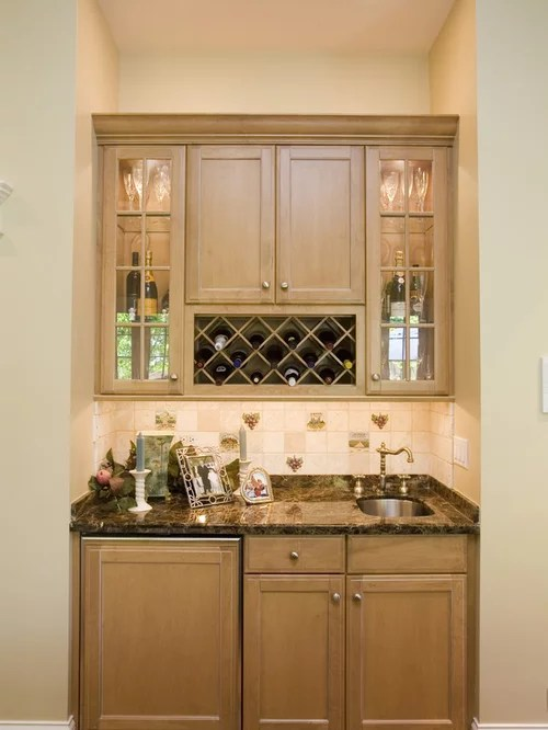 Wine Rack Above Refrigerator  Houzz