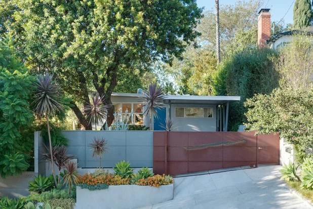 Nail Your Curb Appeal Midcentury Style
