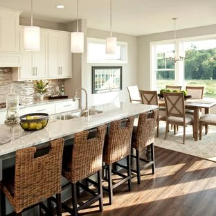 gray kitchen floor cabinets for sale by owner sherwin williams gauntlet ideas photos houzz transitional eat in photo minneapolis with