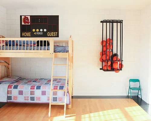 Basketball Bedroom  Houzz