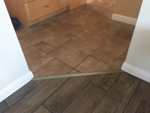 transition options tile to laminate