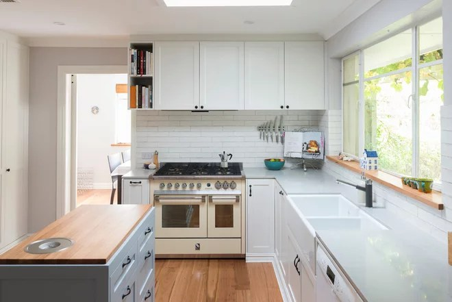 Transitional Kitchen by Created Bespoke Joinery & Furniture
