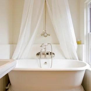 freestanding tub shower curtain houzz