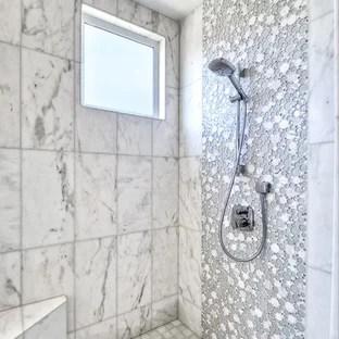 white 12x24 tile houzz
