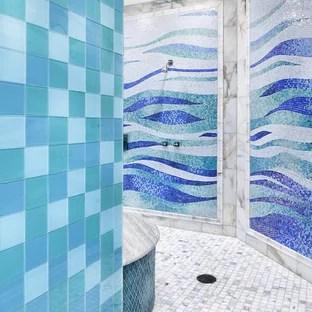 floor tile mural houzz