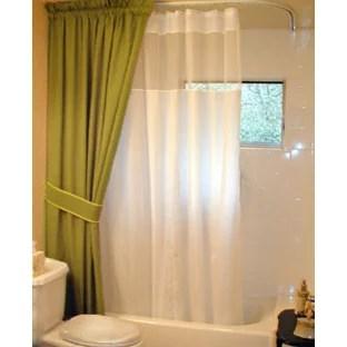 custom shower rods houzz