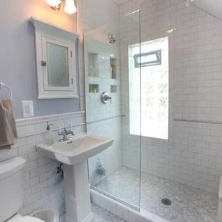 75 beautiful mosaic tile floor bathroom