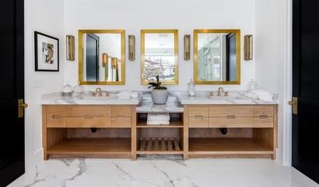 triple sink vanity for kids bathroom