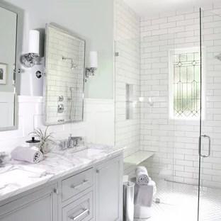 mosaic tile floor bathroom