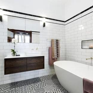 white and gold bathroom ideas houzz