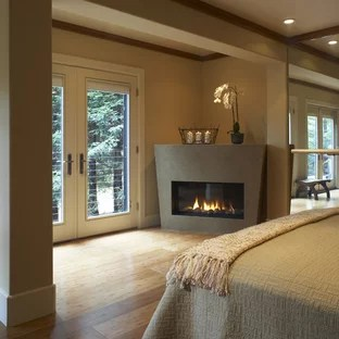 Bedroom Corner Fireplace Houzz