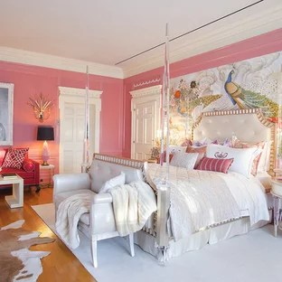 75 Beautiful Victorian Bedroom With Pink Walls Pictures Ideas January 2021 Houzz