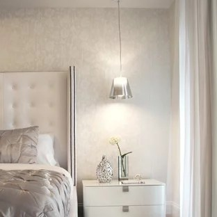 White And Silver Bedroom Ideas And Photos Houzz