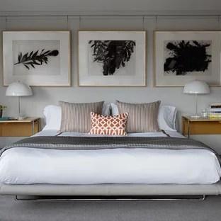 Gray Carpet Bedroom Ideas And Photos Houzz