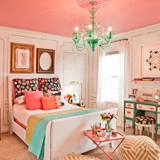 75 Beautiful Orange Bedroom With Pink Walls Pictures Ideas January 2021 Houzz