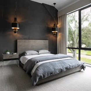 18 Beautiful Bedroom With Black Walls Pictures Ideas October 2020 Houzz