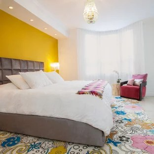 Pink And Yellow Bedroom Ideas And Photos Houzz