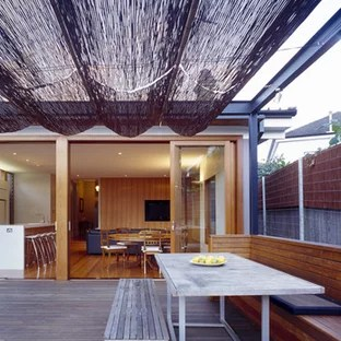 bamboo patio cover houzz