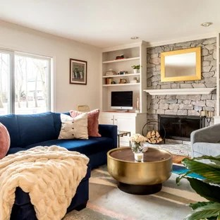 75 Beautiful Family Room With A Standard Fireplace Pictures Ideas January 2021 Houzz