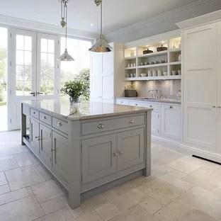75 Beautiful Marble Floor Kitchen Pictures Ideas September 2020 Houzz