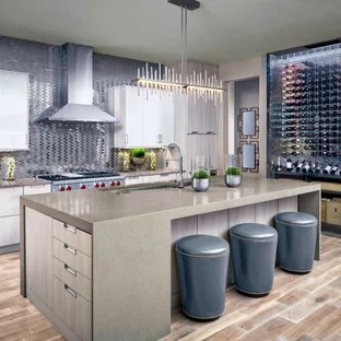 75 Beautiful Contemporary Kitchen With Light Wood Cabinets Pictures Ideas September 2020 Houzz
