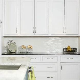 75 beautiful white kitchen backsplash