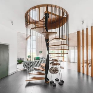 75 Beautiful Spiral Staircase Pictures Ideas September 2020 | Wood Spiral Staircase Plans | Before And After | Simple | Construction | Kid Friendly | Winding