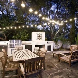 patio lighting ideas houzz