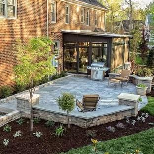 concrete paver patio pictures ideas