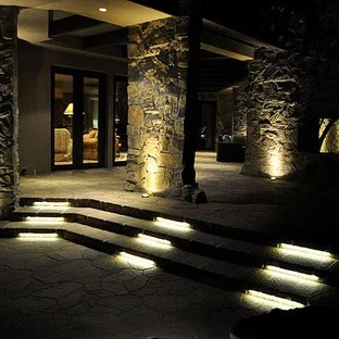 recessed led outdoor step lights houzz