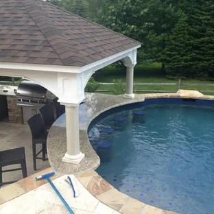 pool patio ideas houzz