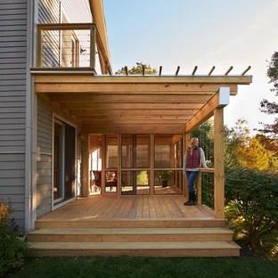 75 beautiful modern screened in porch
