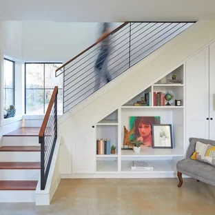 75 Beautiful Small Staircase Pictures Ideas September 2020 | Staircase For Small House | Indoor | Cupboard | Narrow | Duplex | Square