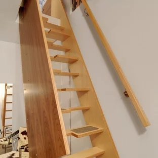 Space Saving Staircase Design Houzz | Space Saving Stairs Design | Storage | Small Space | Cute | Low Cost | 2Nd Floor Small Terrace Concrete