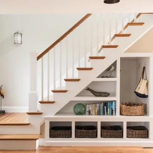 75 Beautiful Staircase Pictures Ideas September 2020 Houzz | Stair Design For Seniors | World's | Contemporary | Steel | Unique | Indoor