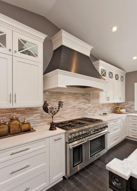 THE DREAM White Kitchen - Potomac MD transitional-kitchen