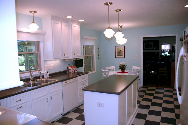 grey kitchen cabinets for sale 1950s appliances 126th & gray black white checkered floor