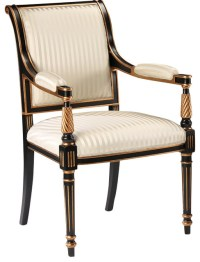 Regency Style Armchair - Traditional - Armchairs And ...