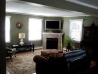 Living Room Redo + Fireplace